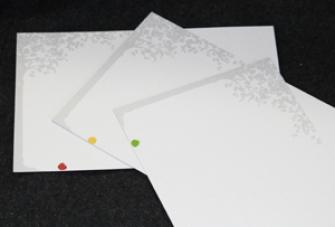 Blank Gift Cards set of 3